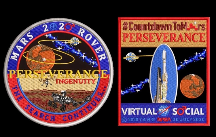 MARS 2020 COMMEMORATIVE SET