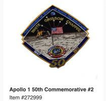 APOLLO 1 50TH ANNIVERSARY PATCH