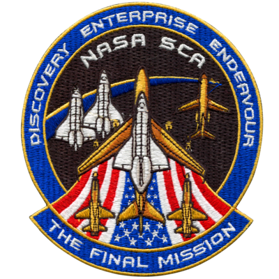 SPACE SHUTTLE SCA FINAL MISSION