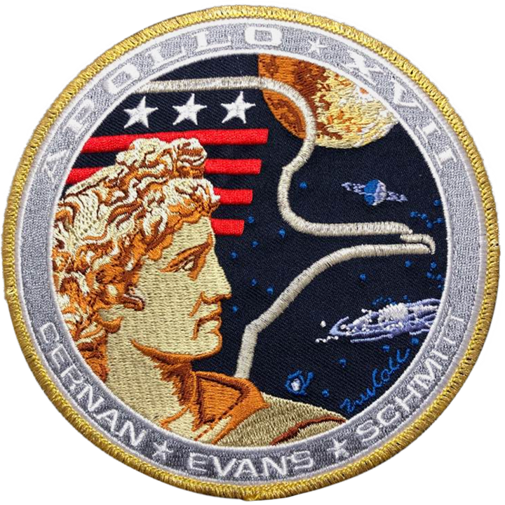 APOLLO 17 COMMEMORATIVE