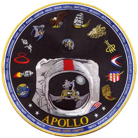 TIM GAGNON'S APOLLO MISSION COMMEMORATIVE