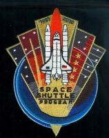 SPACE SHUTTLE CK 2010 PATCH