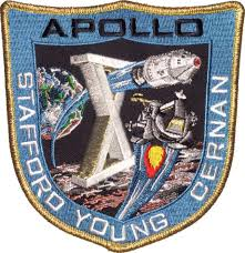 APOLLO 10 COMMEMORATIVE PATCH