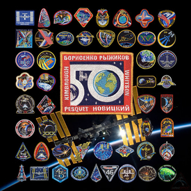 ISS MISSION PATCH SET