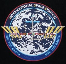 ISS MISSION PATCH COMMEMORATIVE