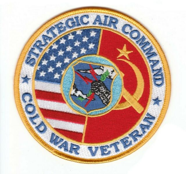 SAC COLD WAR VETERAN PATCH KEYCHAIN
