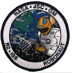ISS ROBONAUT 2 PATCH