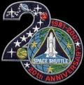 SPACE SHUTTLE 20th ANNIVERSARY